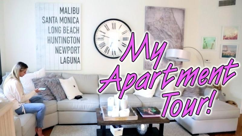 LA Apartment Tour | Chloe Lukasiak