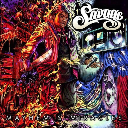 Savage альбом Mayhem & Miracles