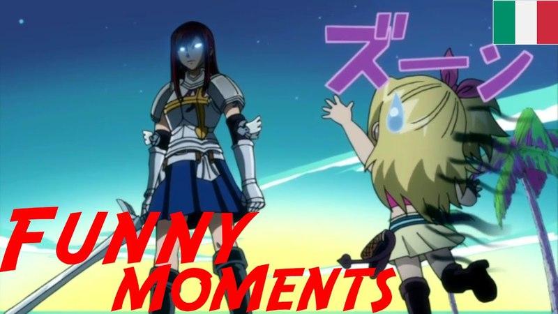 Fairy Tail [SUB-ITA] - FUNNY MOMENTS 4
