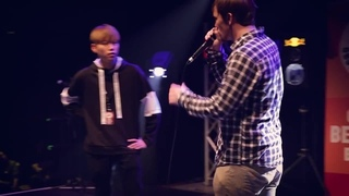 HISS vs NaPoM | Grand Beatbox SHOWCASE Battle 2017 | FINAL · #coub, #коуб