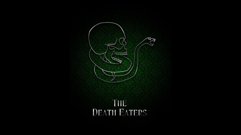 The First Wizarding War: the Death Eaters