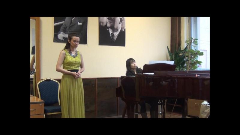 А. Скарлатти Sento nel core - Елена Булатова (сопрано)