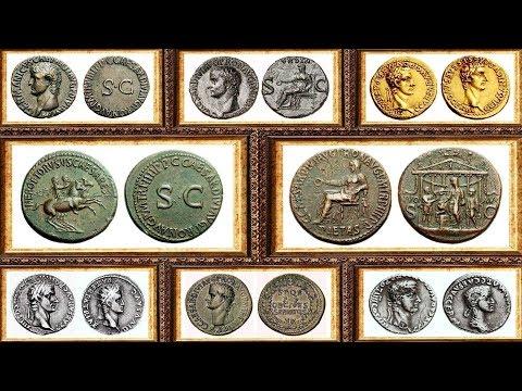 Калигула, Монеты, Древний Рим, Часть 7, Caligula, Coins of the Roman Empire