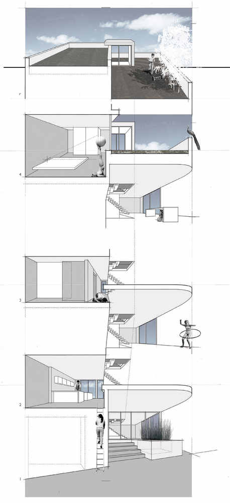 Split Level House | Qb Design