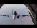 Пилоты ВКС РФ показали в Сирии высший пилотаж на Су-30СМ. Просто класс
