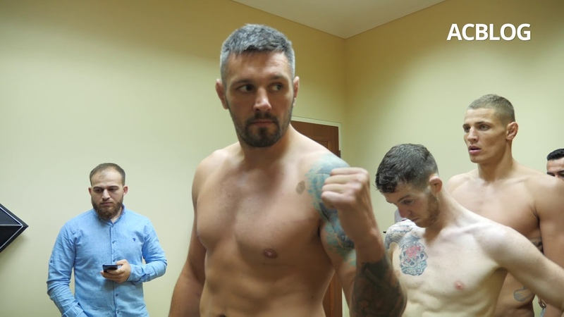 ACBlog: ACB88 weigh-ins day