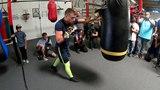 Финальный этап подготовки Ломаченко к бою с Линаресом (видео)
