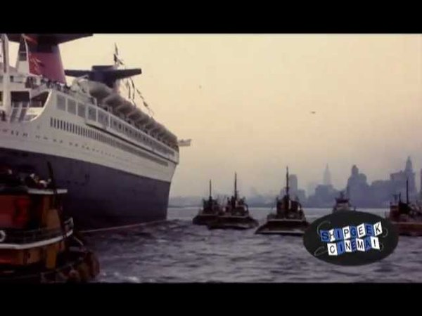 SS France Maiden Voyage Arrival in New York, 1962
