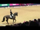 Carl Hester and Nip Tuck winning GP Freestyle at Olympia 2016