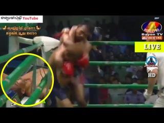 Kun Khmer, Phal Sophorn Vs Thai, Rambo, Bayon boxing, 02 April 2017, Carabao arena