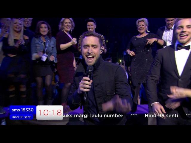 """MÅNS ZELMERLÖW – """"Heroes / Glorious"""" / EESTI LAUL 2017 FINAAL"""