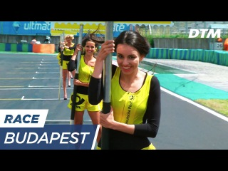 Windy conditions for the Gridgirls - DTM Budapest 2017