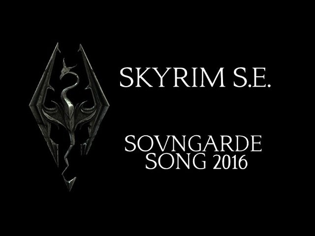 SOVNGARDE SONG 2016 (Skyrim SE) by Miracle Of Sound (Symphonic Rock)