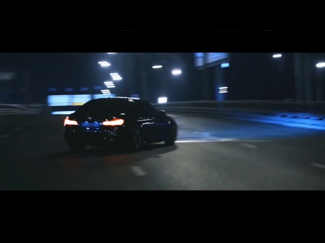 BMW M5 F10 Crazy Night Moscow Drifting
