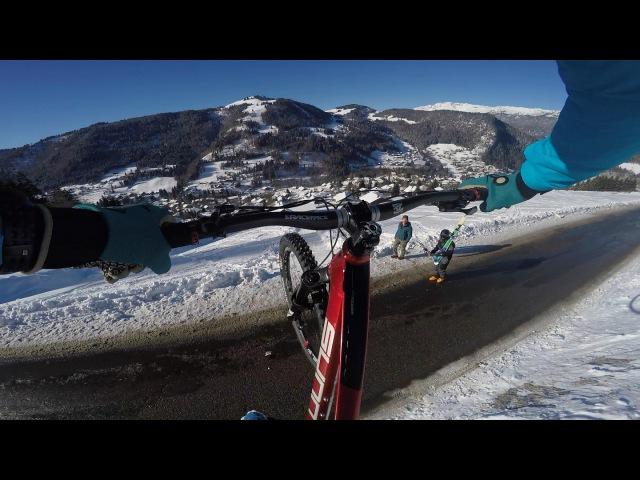 Mountain Bike is the New Ski Kilian Bron