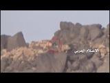 لحظة قنص أحد مرتزقة الجيش السعودي واستهدا&#16