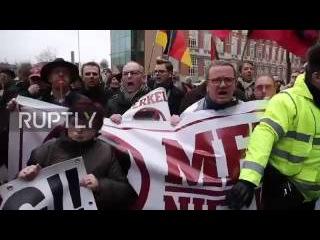 hd PEGIDA Schweiz Merkel moet weg #Merkelmussweg   gestern in Brüssel