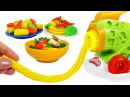 Пластилин Плей До Делаем Спагетти Набор Машинка для Лапши. Поделки из пластилина Play Doh Игрушки 1