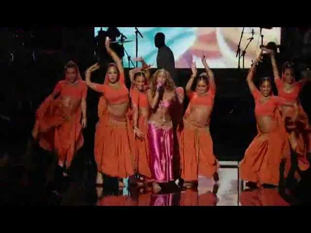 Shakira hottest indian dancing style