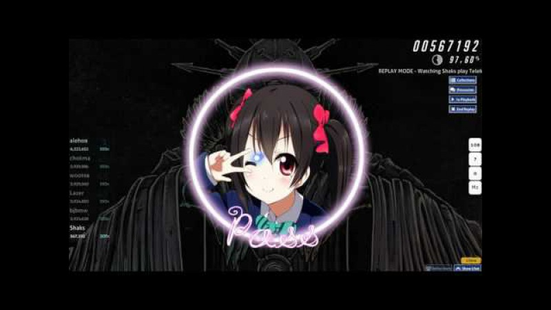 Osu! Telekinesis - The Monk [Slayeds Insane] 4.42* FC (99.06) 99pp