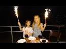 Kuzenimin Doğum Gününü Kutladık Havai Fişek Attık ve Volkan Yaktık - Eğlenceli Çocuk Videosu