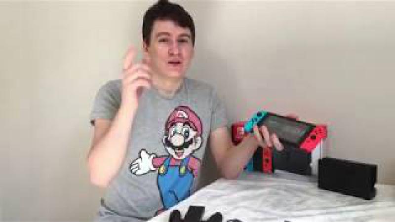 Nintendo Switch обзор и общее впечатление от консоли