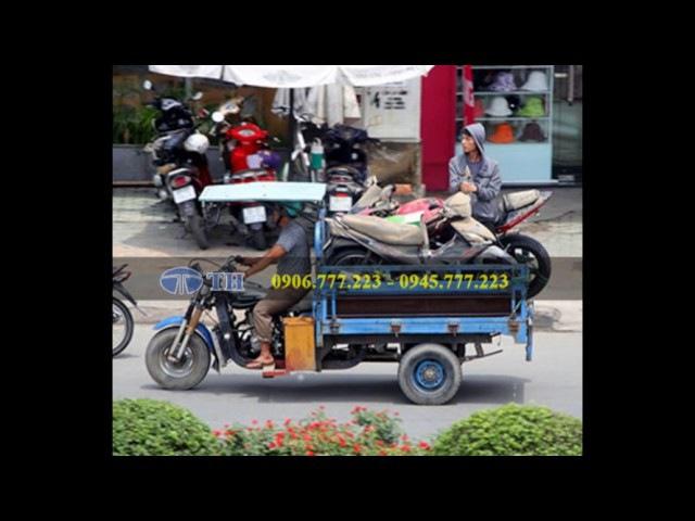 Dịch vụ xe ba gác chở hàng thuê giá rẻ tại tphcm