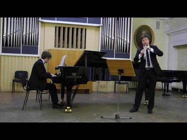 Duo Inspirazione - R. Glière, Chanson