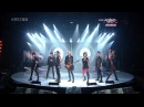 2010.09.10 SHINee feat. Trax - Lucifer (Rock version) @ Music Bank