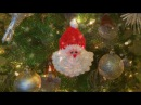 How To Crochet A Santa Ornament, Lilu's Handmade Corner Video 13