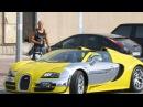 Таксист на Bugatti Коби Персин решил порадовать людей, заказавших убер
