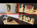 Homemade 4 in 1 Drill Press ( Thickness Sander - Mini Lathe - Disc Sander ) - 4 İn 1 Sütun Matkap