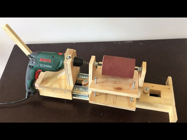 4 in 1 Drill Press Build Pt3 Thickness Sander 4 in 1 Sütun Matkap 3 Bölüm