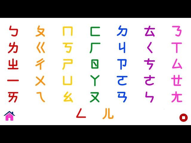 Learn Chinese Alphabet |汉语拼音字母表 | Kids Educational Video