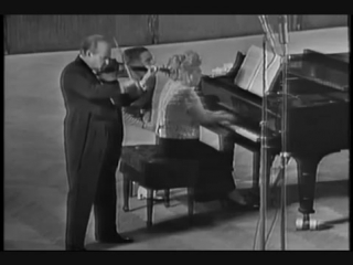 Оливье Мессиан - Тема с вариациями для скрипки и фортепиано.