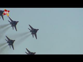 Воздушный парад в честь 105-летия ВВС России и авиационный фестиваль «Форсаж-2017»