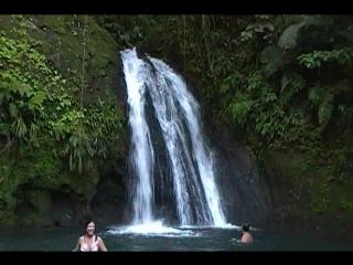 Водопад на Гваделупе.