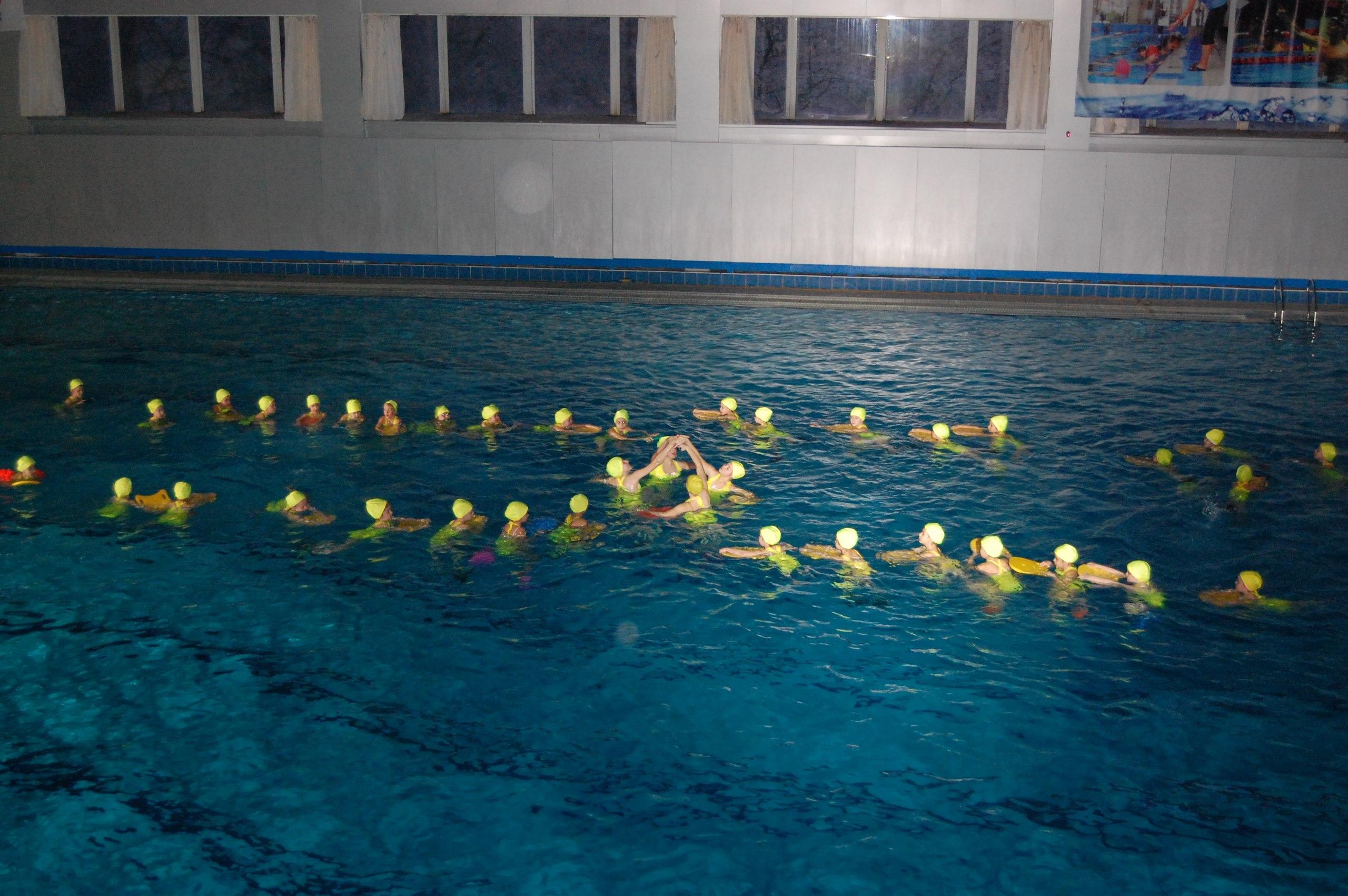 Синхронному плаванию на Дону лет