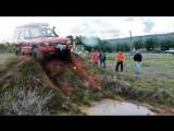Land Rover Discovery 2 Td5 G4 Challenge offroading, mud off road 4x4