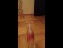 Water bottle flip chalenge