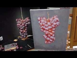 Рисуем кисть винограда (handmade_for_help)