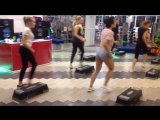Связка на степе. Flexible body август 2017. ЮляНов