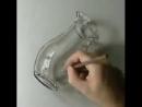 Рисунок вазы за пять минут. Просто талантище!