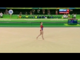 Олимпийские игры 2016 - Алия Мустафина (Вольные упражнения) (Командное многоборье) (Финал)