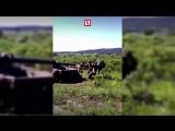 Беспощадный армейский спиннер из танка Т-62