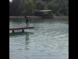 Когда ты мастер по вхождению в воду