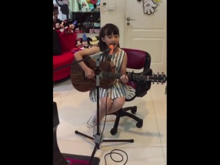 Gail Sophicha น้องเกล 11 Years old. Safe and Sound (Taylor Swift)