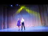 Лауреаты 3-ей степени за песню ЗЕРКАЛА в г.Сочи. Влад Овцынов и Катя Саванина