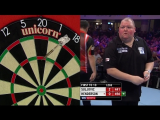 Mensur Suljovic vs John Henderson (PDC World Matchplay 2017 / Round 1)