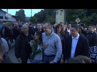 Туристка из Бразилии не поняла, что общается с президентом Болгарии.